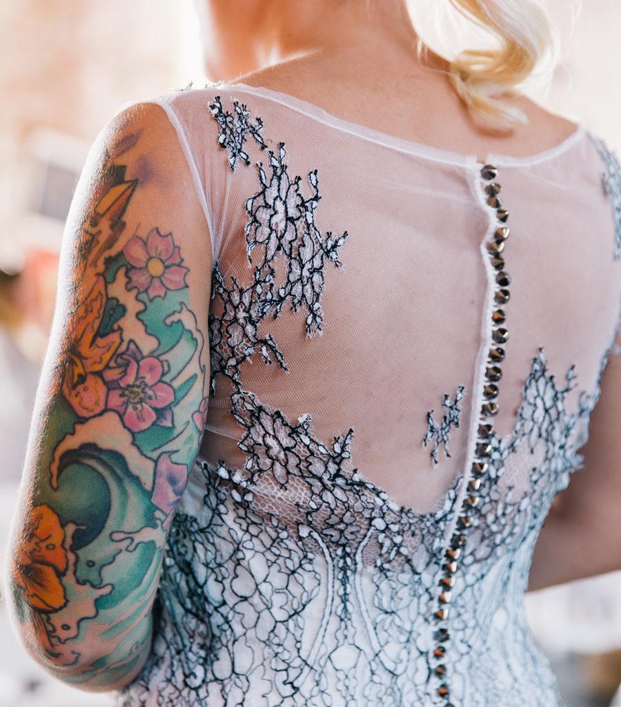Artistic Boho Wedding I New Jersey Wedding Planner I Jersey Shore Wedding Planning I Boho Wedding Dress