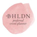 bhldn event planner badge