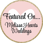 Melissa Hearts Weddings, Featured, Dee Kay Events, Press