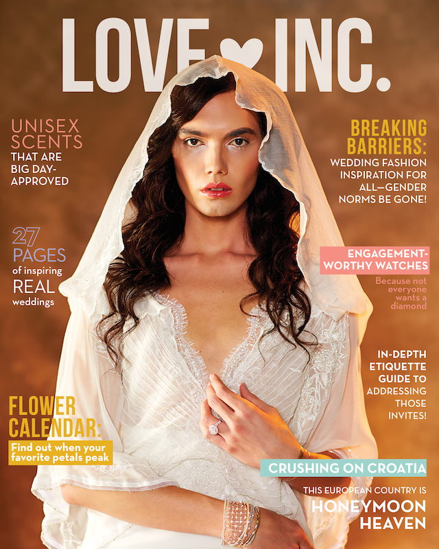 Love Inc. Mag, Croatia Honeymoon, Dee Kay Events, Love Inc. V3 Cover