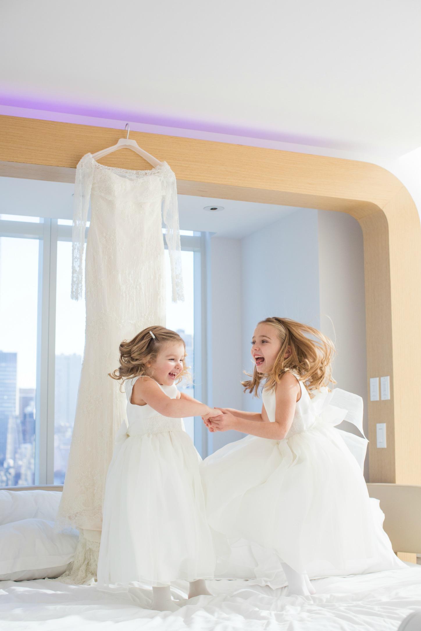 NYC Chic Winter Wedding ǀ Dee Kay Events ǀ Wedding Consultant ǀ Wedding Design ǀ New York Wedding Dress