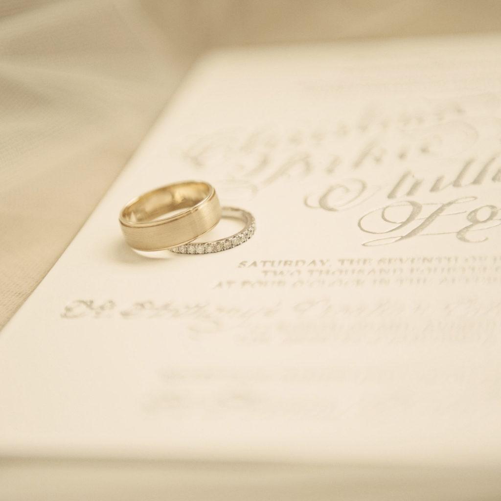 Classic Hollywood Wedding California I Dee Kay Events I New Jersey Wedding Planner I Wedding Rings