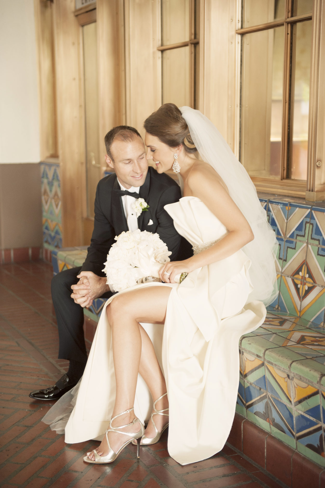 Classic Hollywood Wedding California I Dee Kay Events I New Jersey Wedding Planner I Bride and Groom