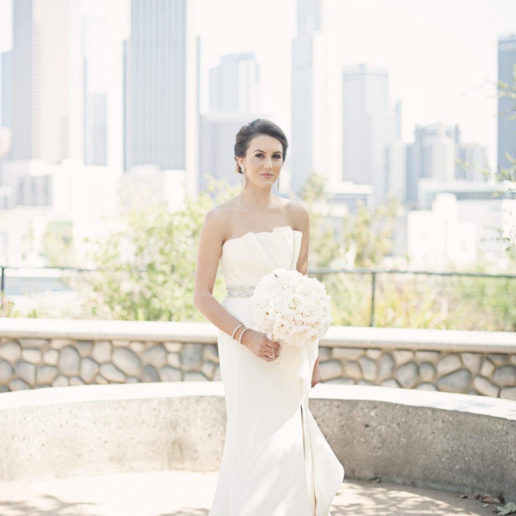 Classic Hollywood Wedding California I Dee Kay Events I New Jersey Wedding Planner I Bride Dress