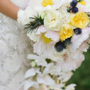 Luxe Shore Wedding | Dee Kay Events ǀ Downtown Annapolis, MD | Carroll House I Bridal Bouquet