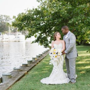 Luxe Shore Wedding | Dee Kay Events ǀ Downtown Annapolis, MD | Carroll House I Bride And Groom