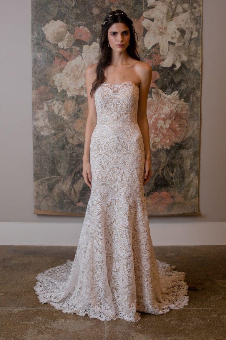 Dee Kay Events | NYC 2018 Bridal Fashion Week | BHLDN Bridal I Classic Wedding Dress 2019