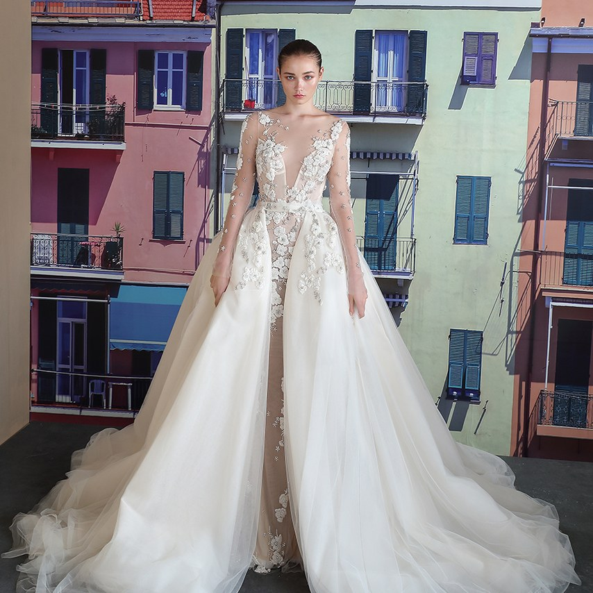 Ee Kay Events | NYC 2018 Bridal Fashion Week | Galia Lahav I Bridal Trends 2018