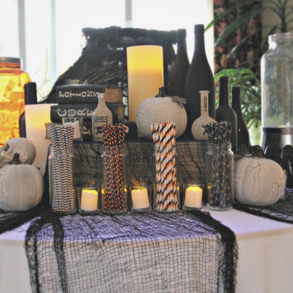 Dee Kay Events   Spooktacular Dessert Table Halloween Bar I Spooky Dessert Bar