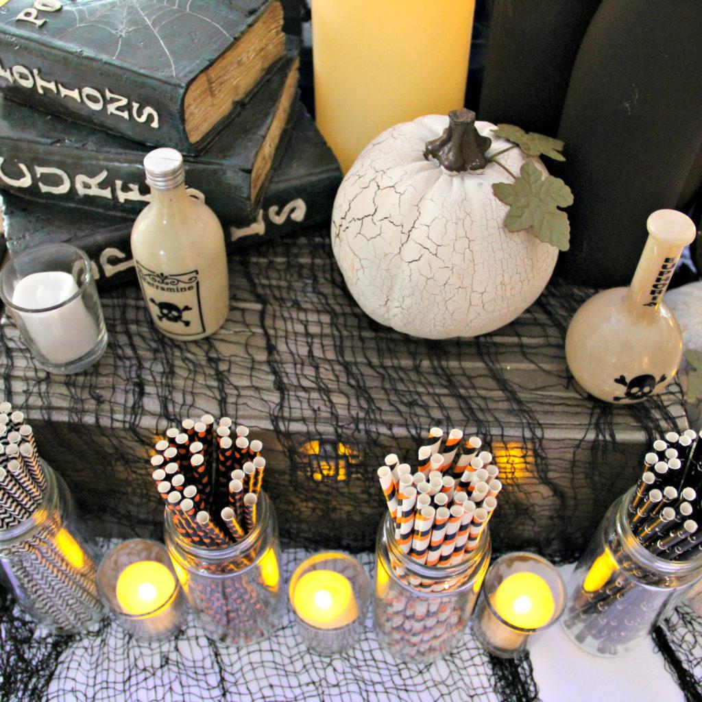 Dee Kay Events   Spooktacular Dessert Table Halloween Bar I Orange And Black Dessert Bar