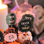 Dee Kay Events | Spooktacular Dessert Table Halloween Bar I Halloween Cupcakes