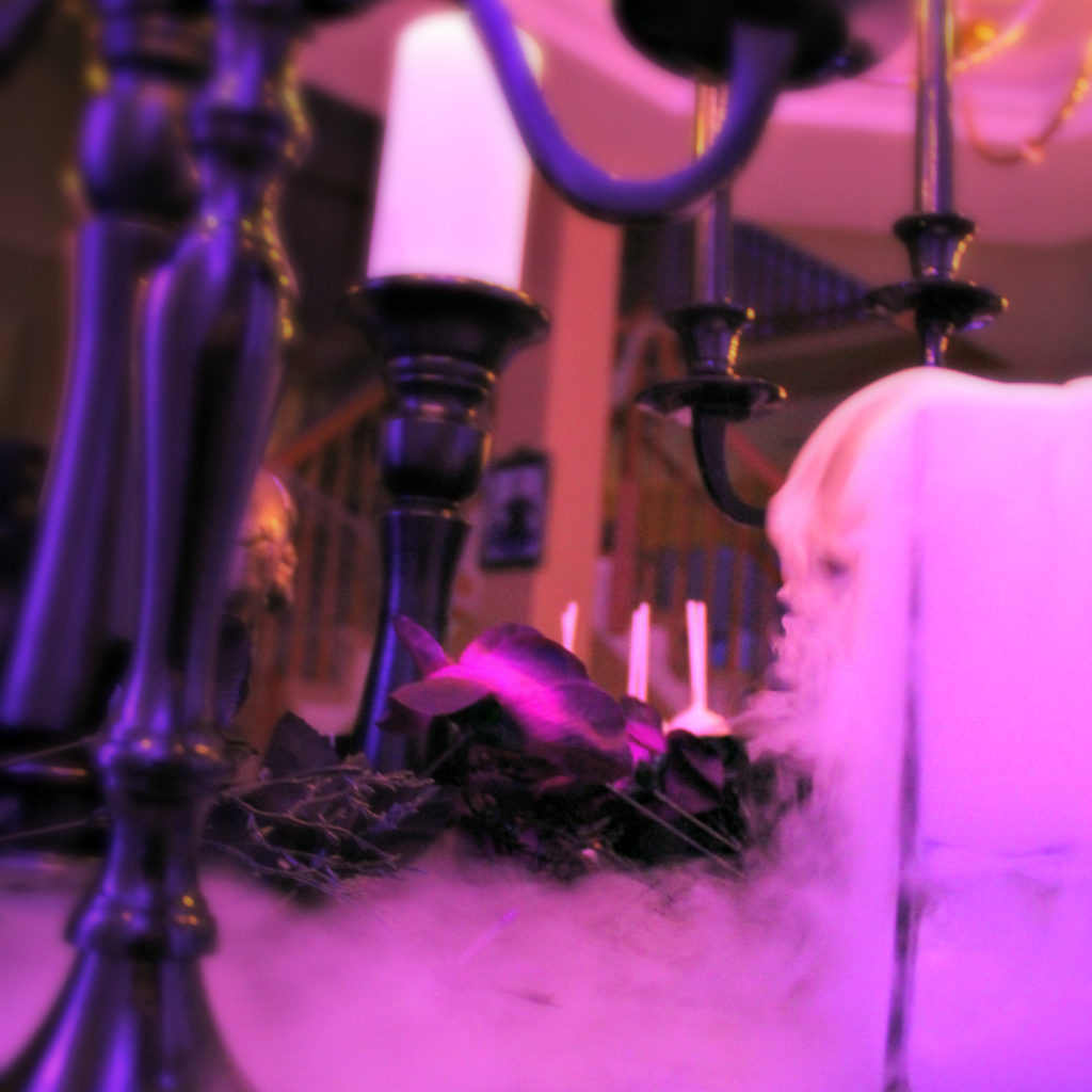 Dee Kay Events | Spooktacular Dessert Table Halloween Bar I Dry Ice Ghost