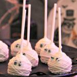 Dee Kay Events   Spooktacular Dessert Table Halloween Bar I Mummy Cake Pops