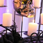 Dee Kay Events   Spooktacular Dessert Table Halloween Bar I Skull Candles